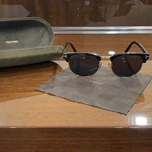 TOM FORD HENRY CLUBMASTER SUNGLASSES